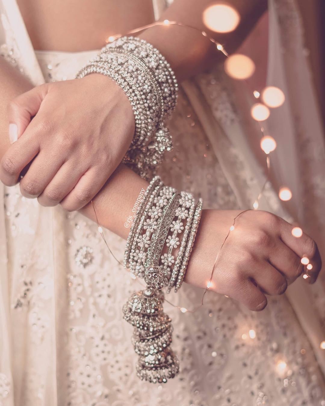 silver kaleeras