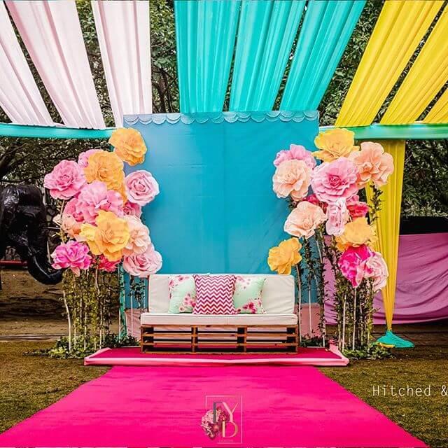 initmate wedding decor ideas