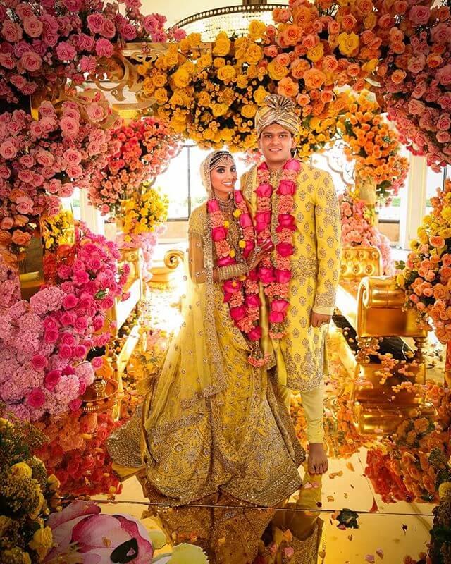 yellow wedding theme