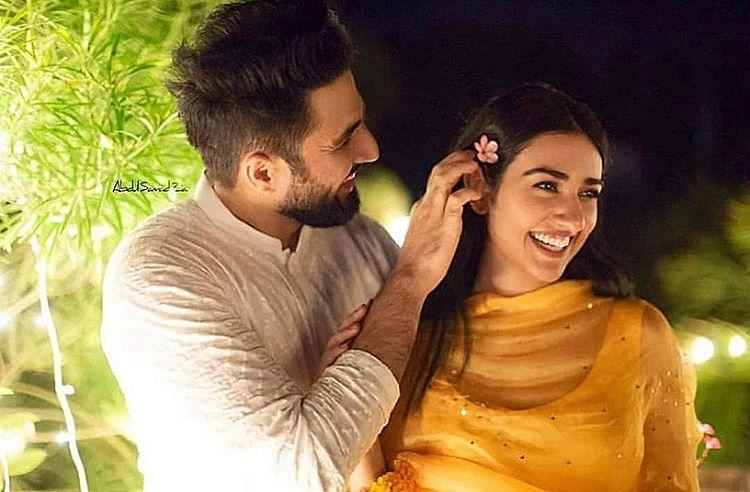 Falak Shabir wedding, Sara Khan wedding