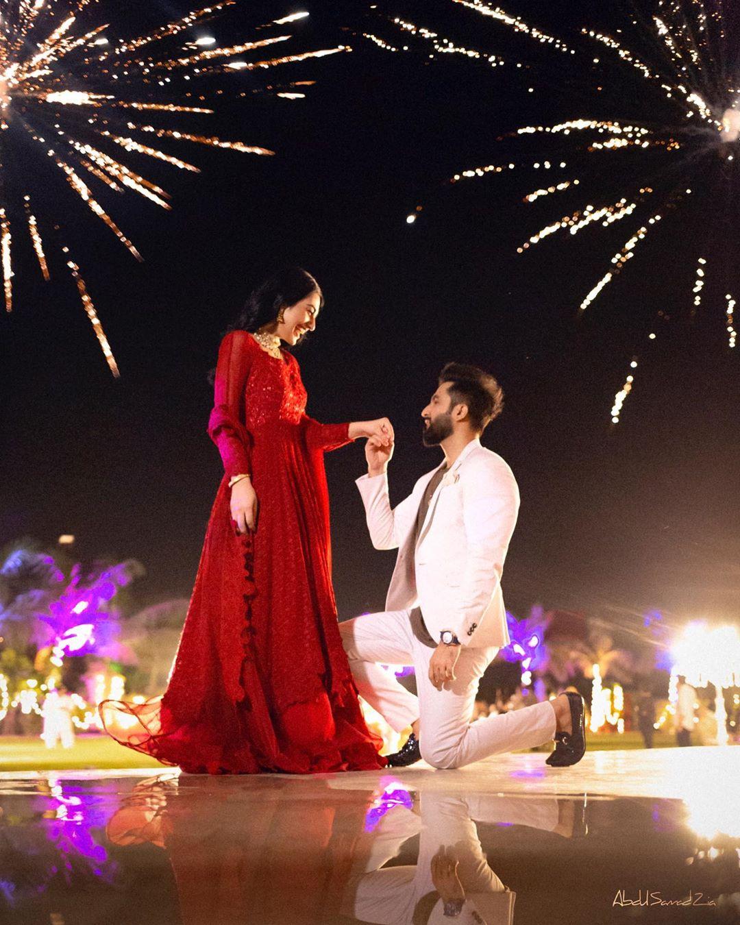 falak shabir wedding proposal