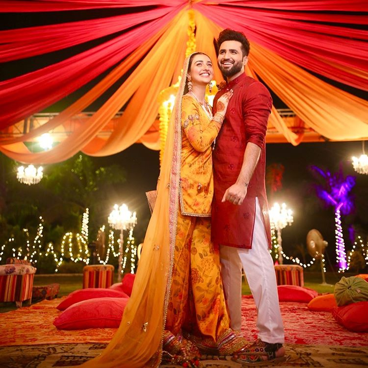 Falak Shabir wedding