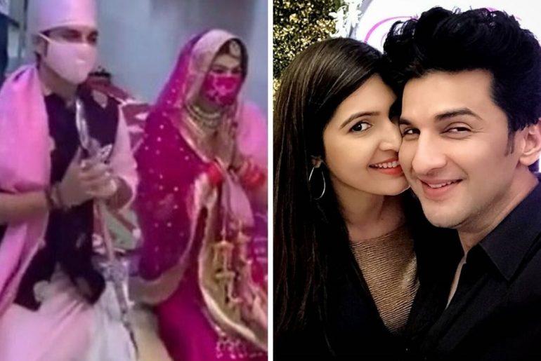Sasural Simar Ka Actor Manish Raisinghan wedding