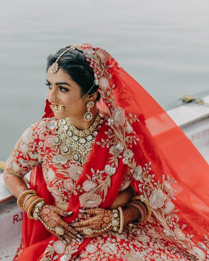 anamika khanna bridal lehenga