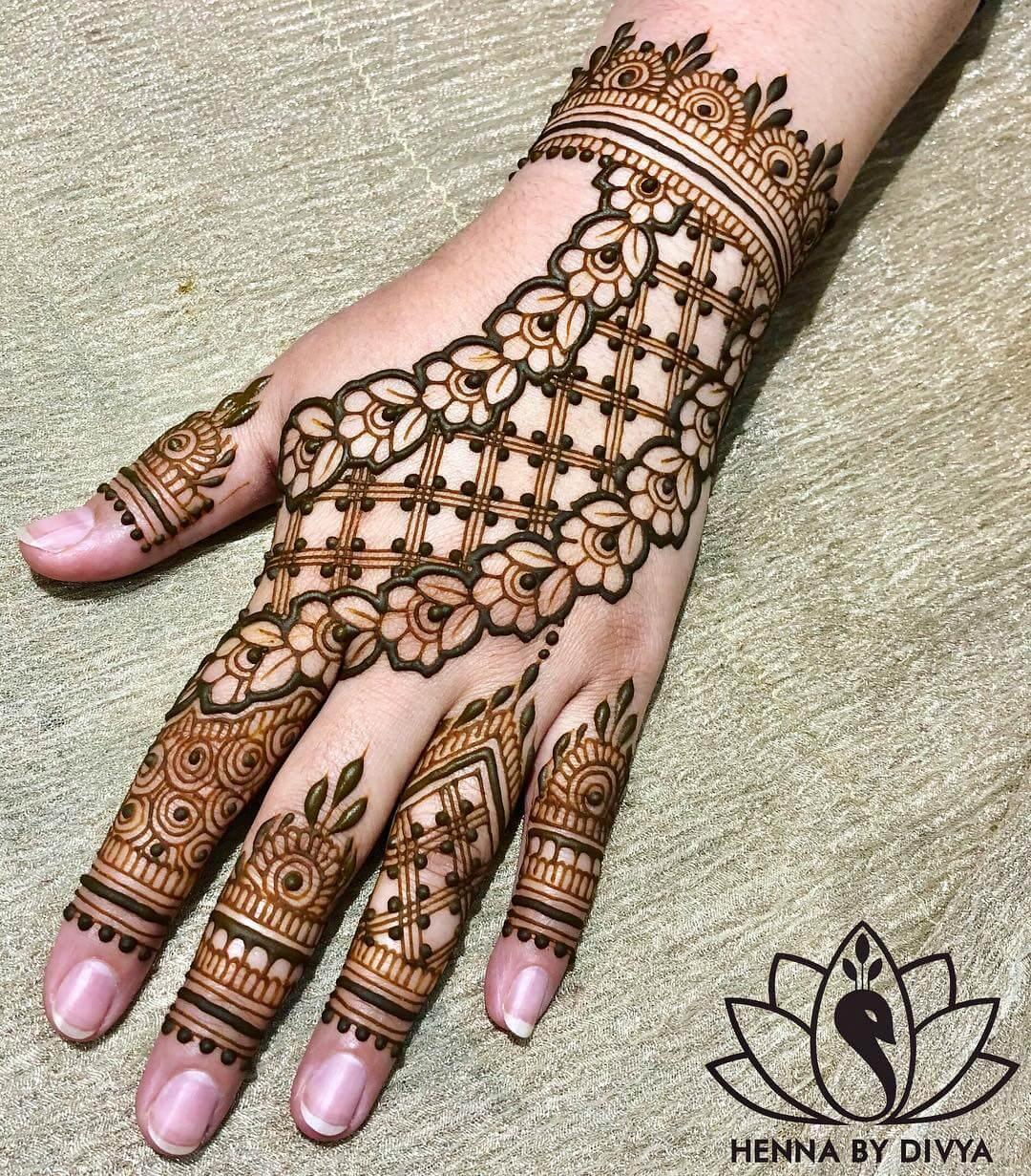 arabic mehandi design back hand