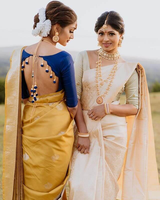 kanjeevaram blouse ideas