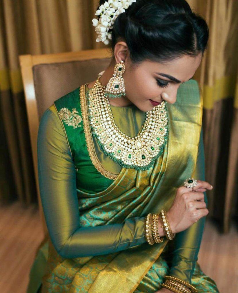 Kanjeevaram blouse designs
