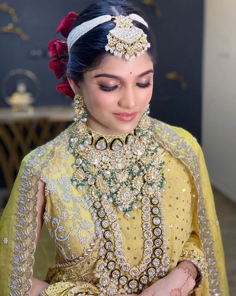 bridal layered jewellery