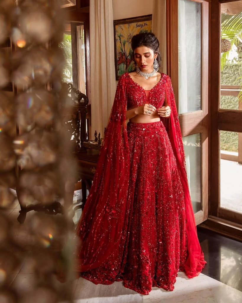 red designer gowns