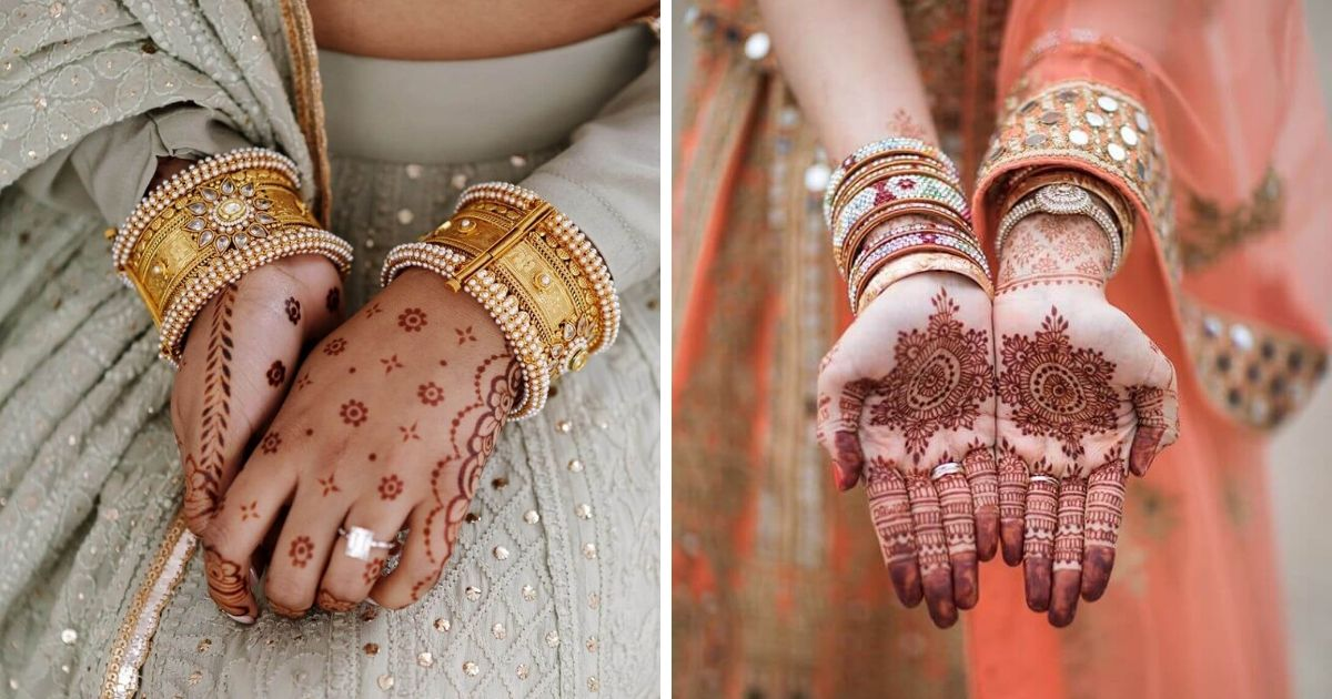 These Elegant And Simple Mehandi Designs Are For Small Weddings