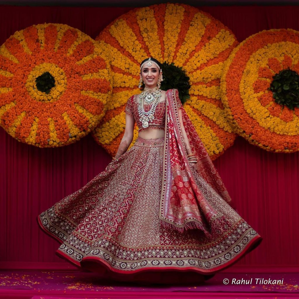 bridal twirl ideas