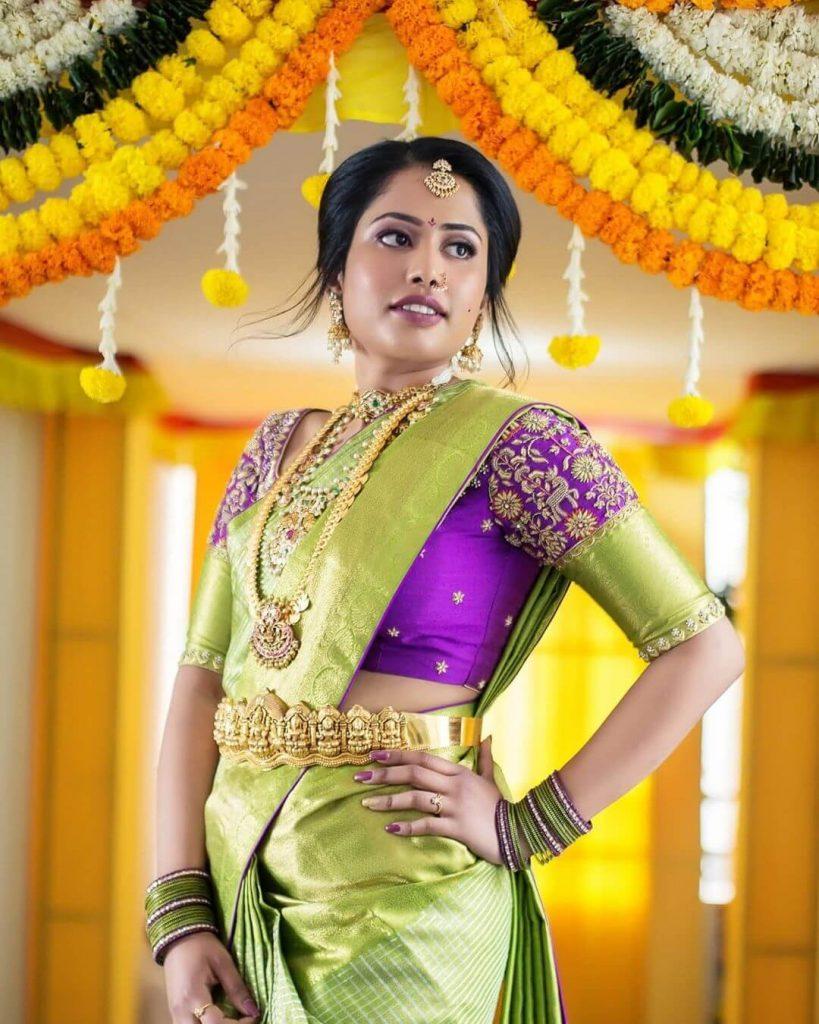 bridal saree ideas