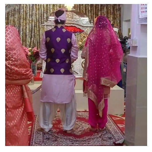 gurudwara wedding