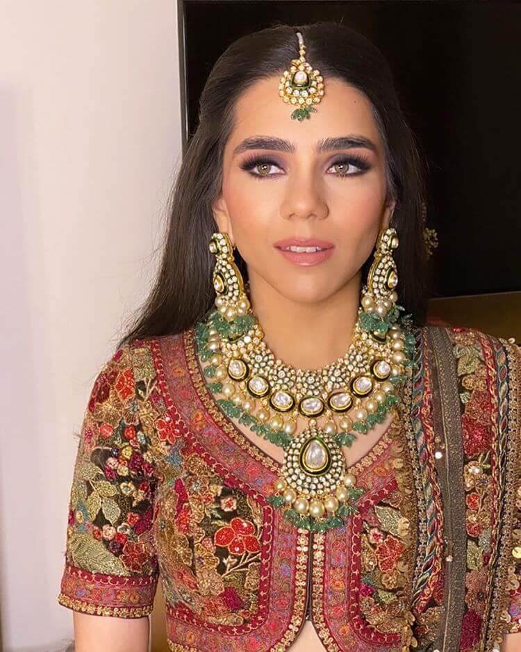 minimal bridal makeup