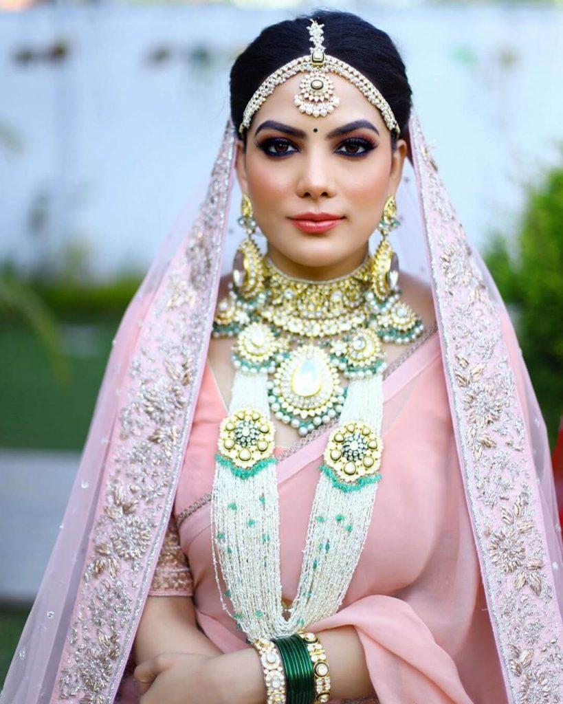 oversized bridal jewellery