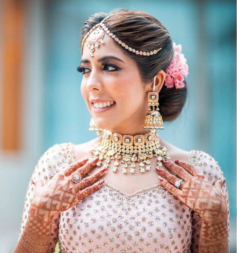 polki bridal earrings