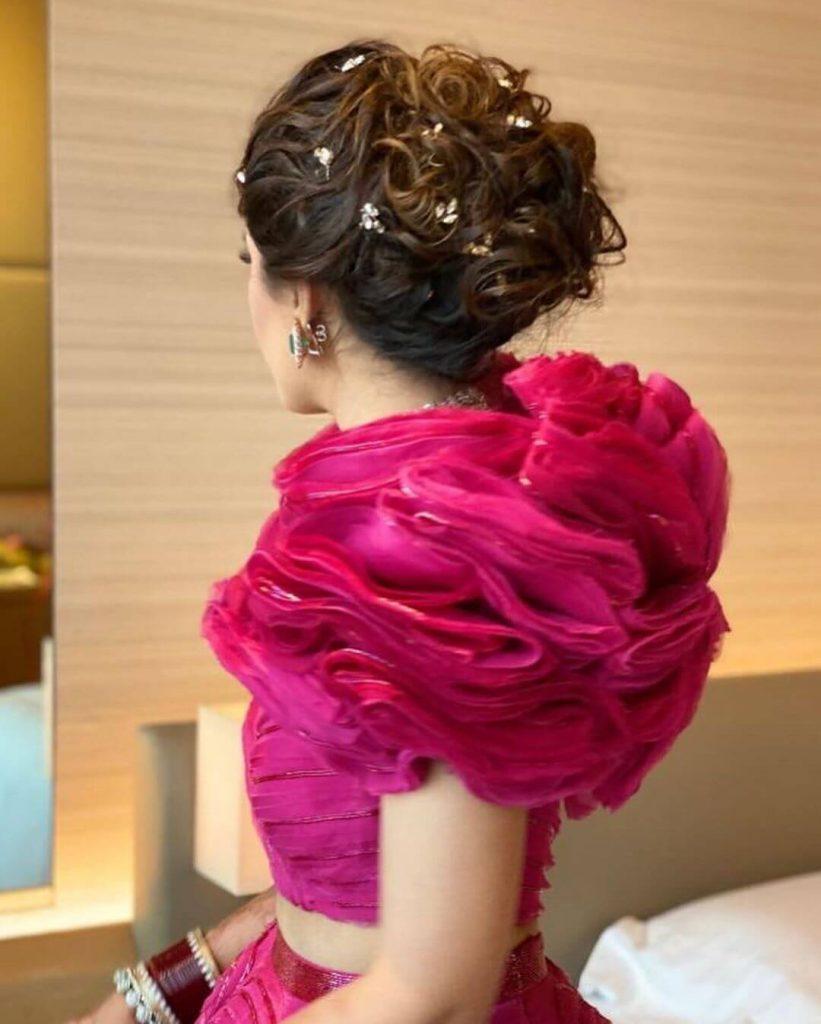 sangeet hairstyle ideas