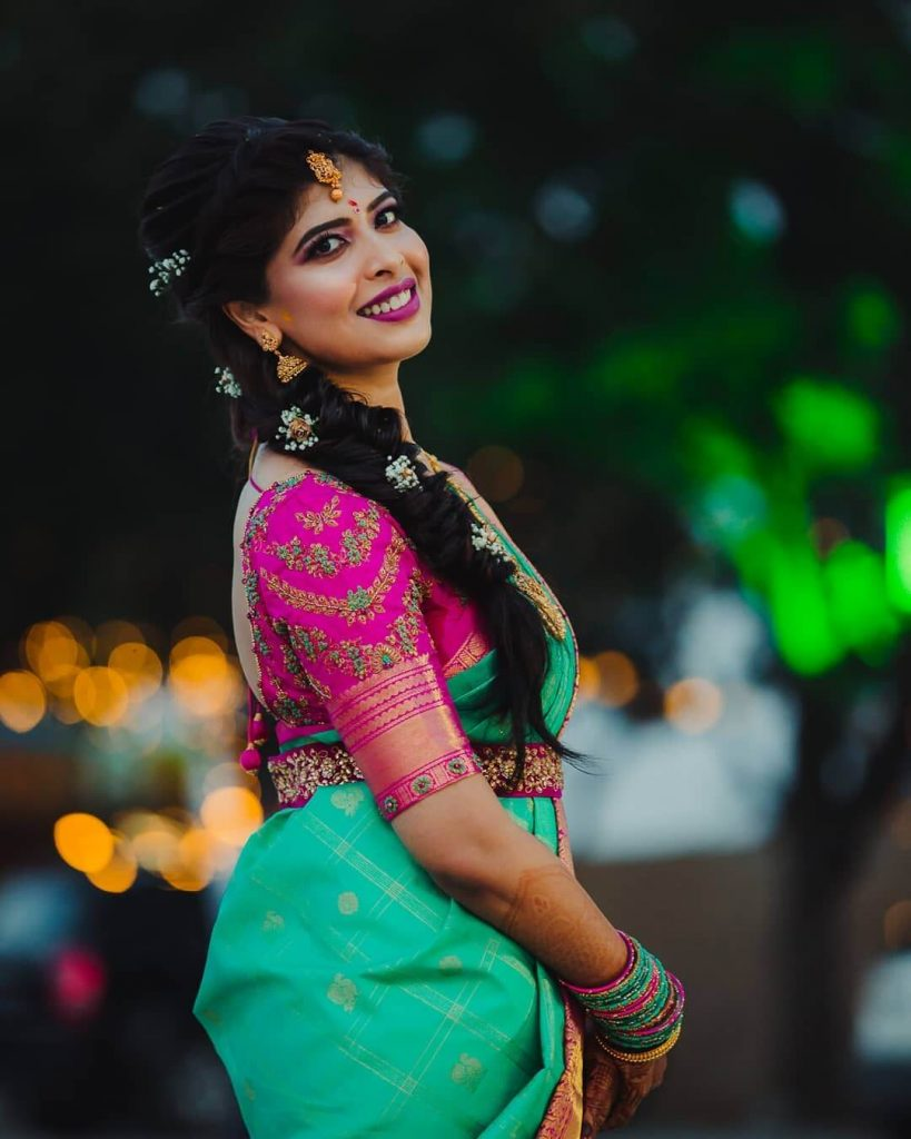 south indian bridal looks