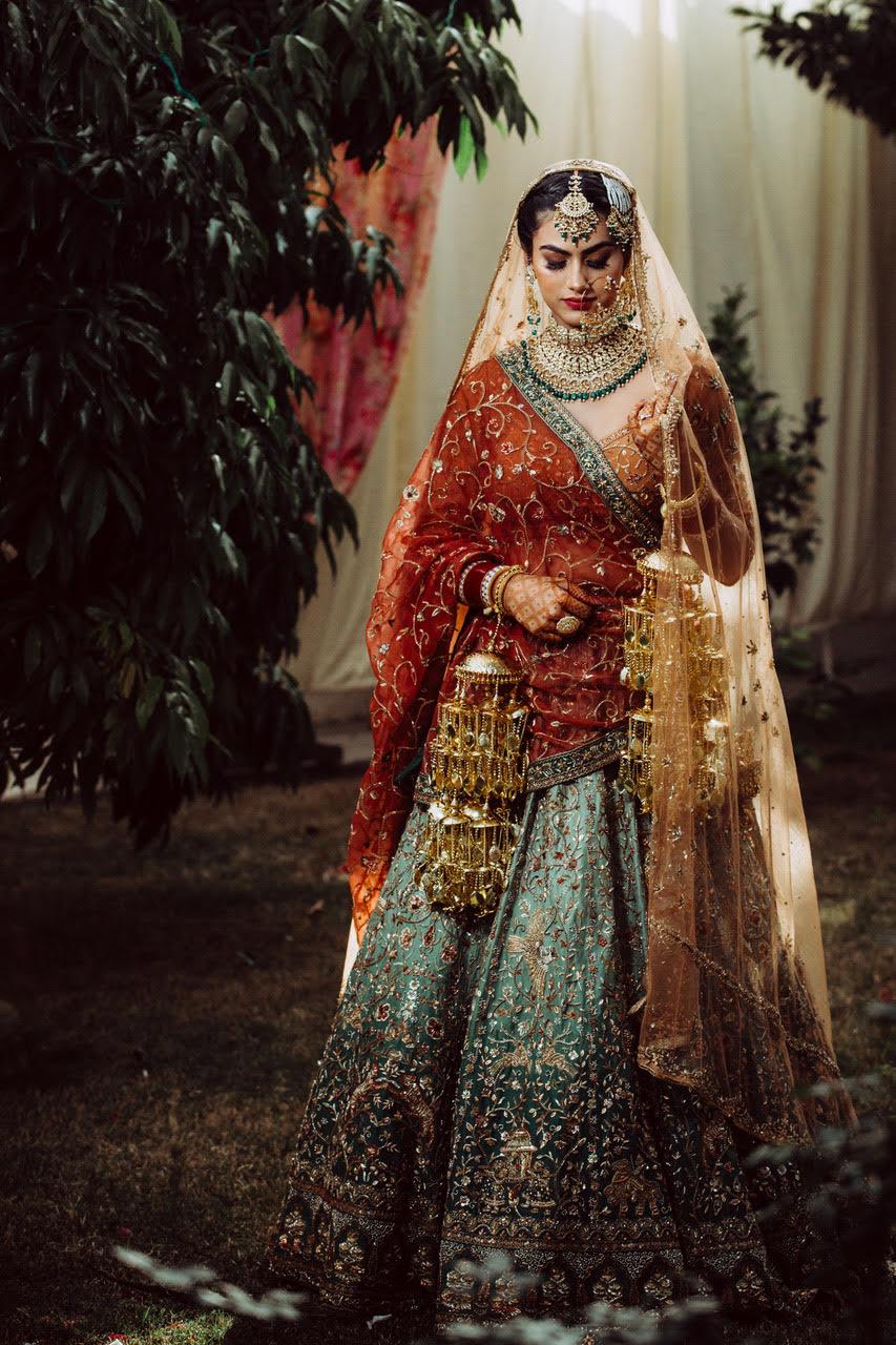 personalised wedding lehengas
