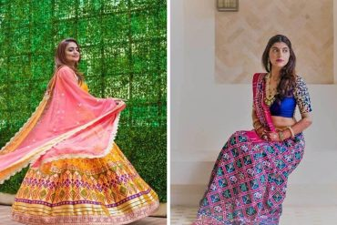patola lehengas and sarees