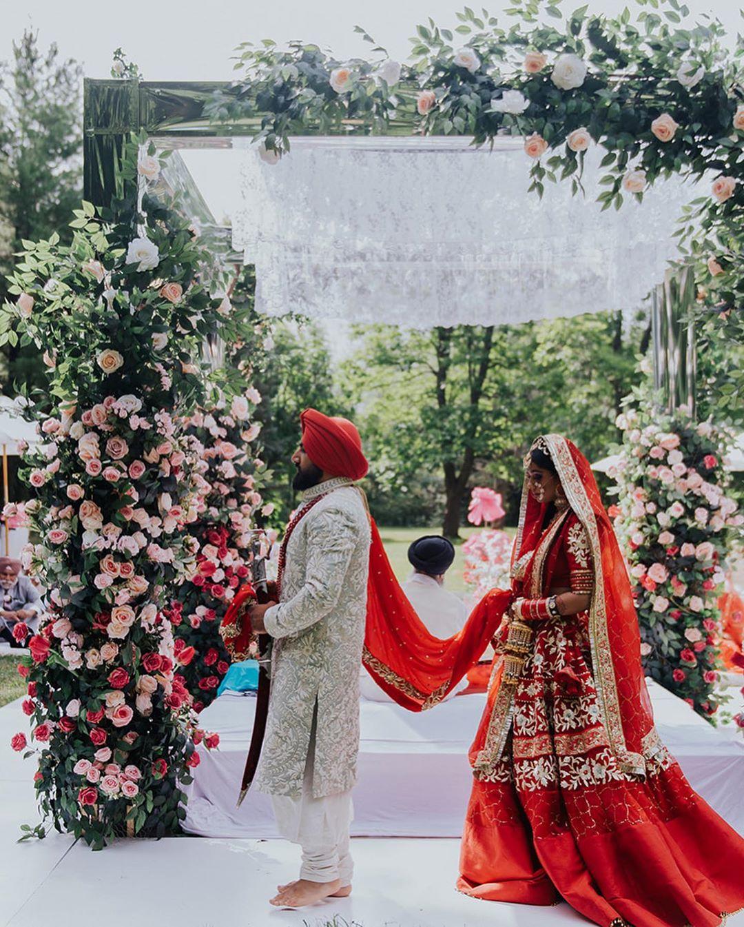 wedding of Mani Jassal