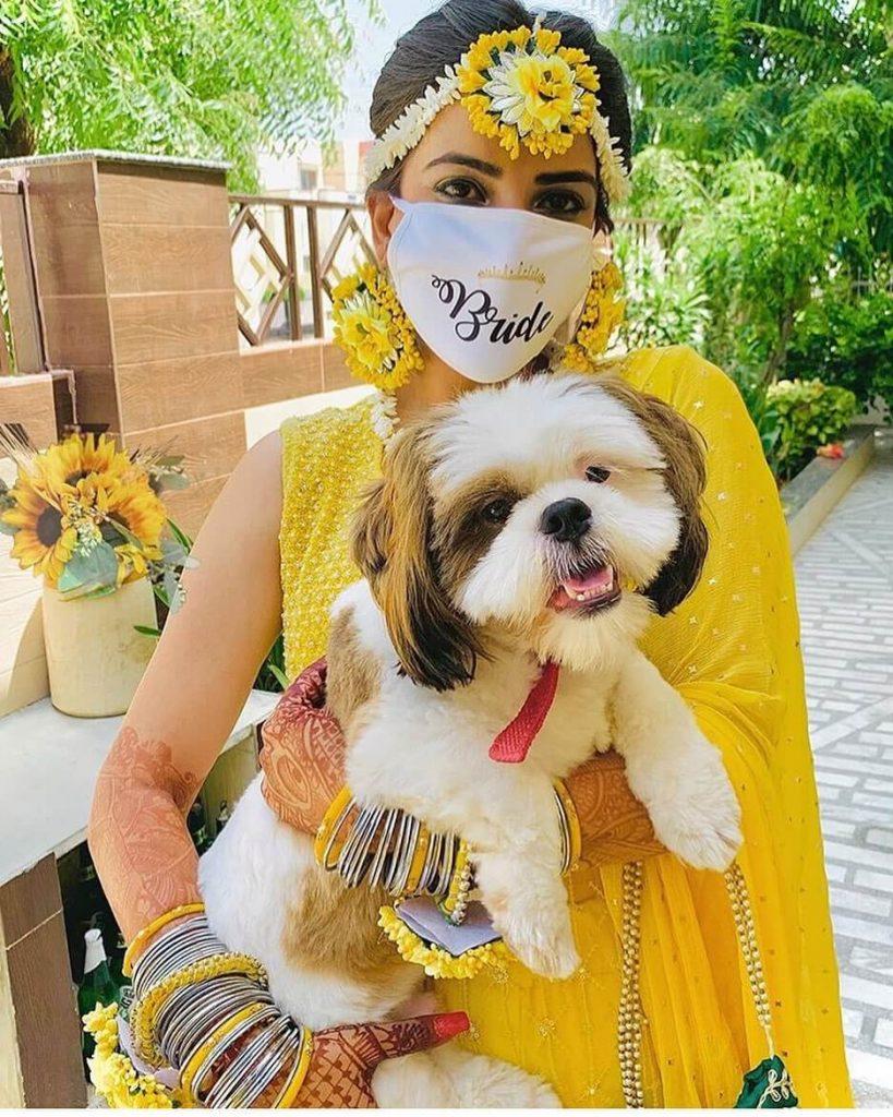 bridal mask trends