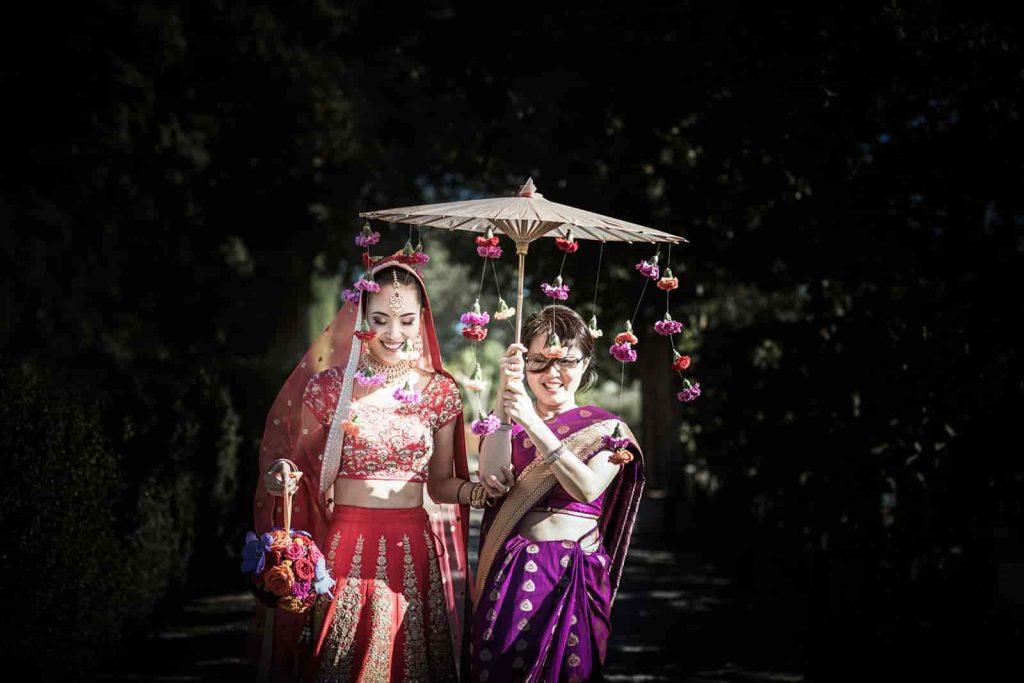 bridal umbrella ideas