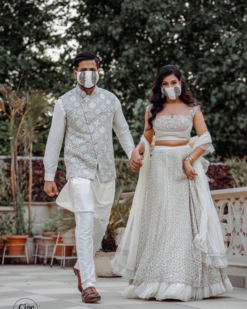 wedding masks ideas