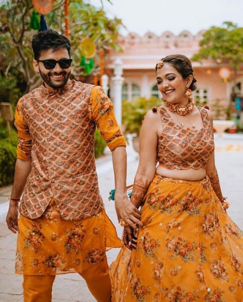 haldi outfit trends