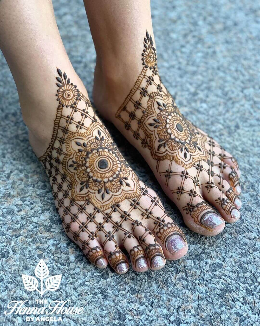 feet mehndi ideas