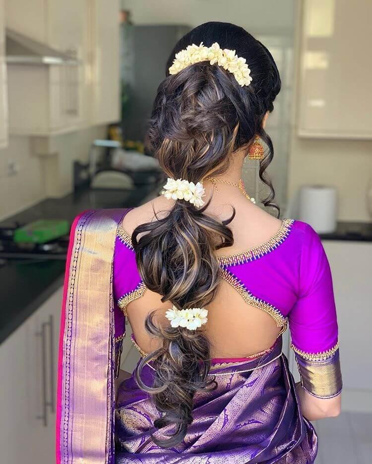 gajra hairstyles