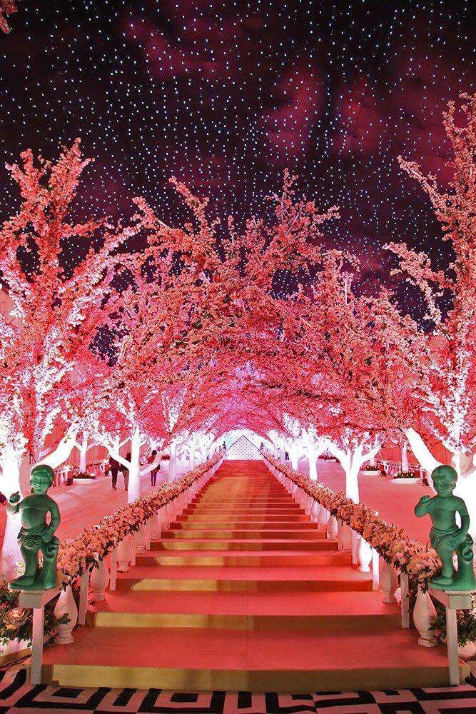 entrances decor ideas for wedding