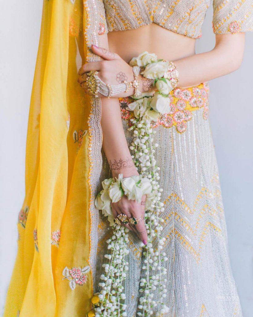 bridal floral kaleeras