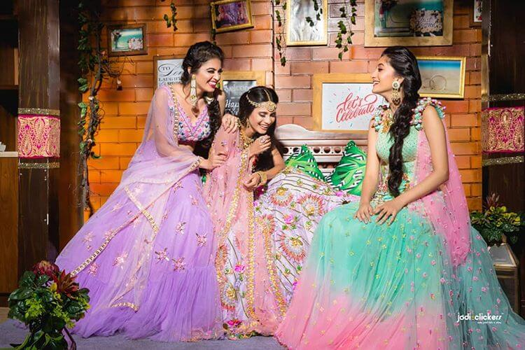 bridesmaids lehenga ideas