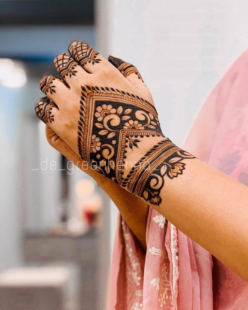 bridal henna ideas
