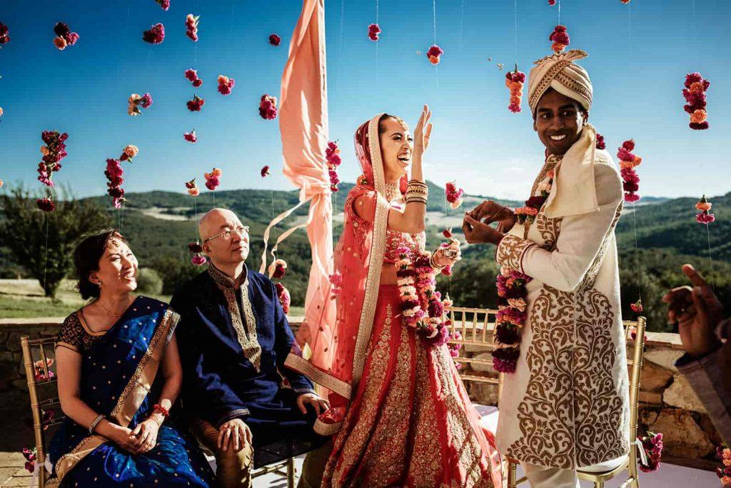 Tuscany Indian Wedding