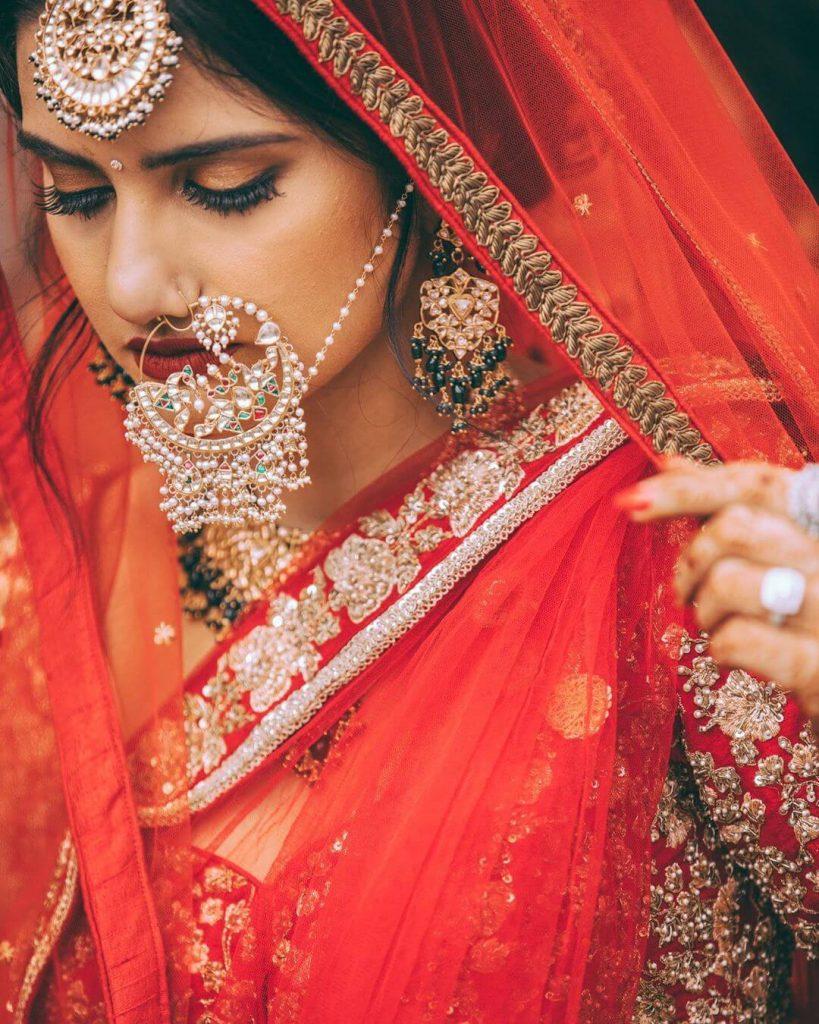 vintage bridal naths