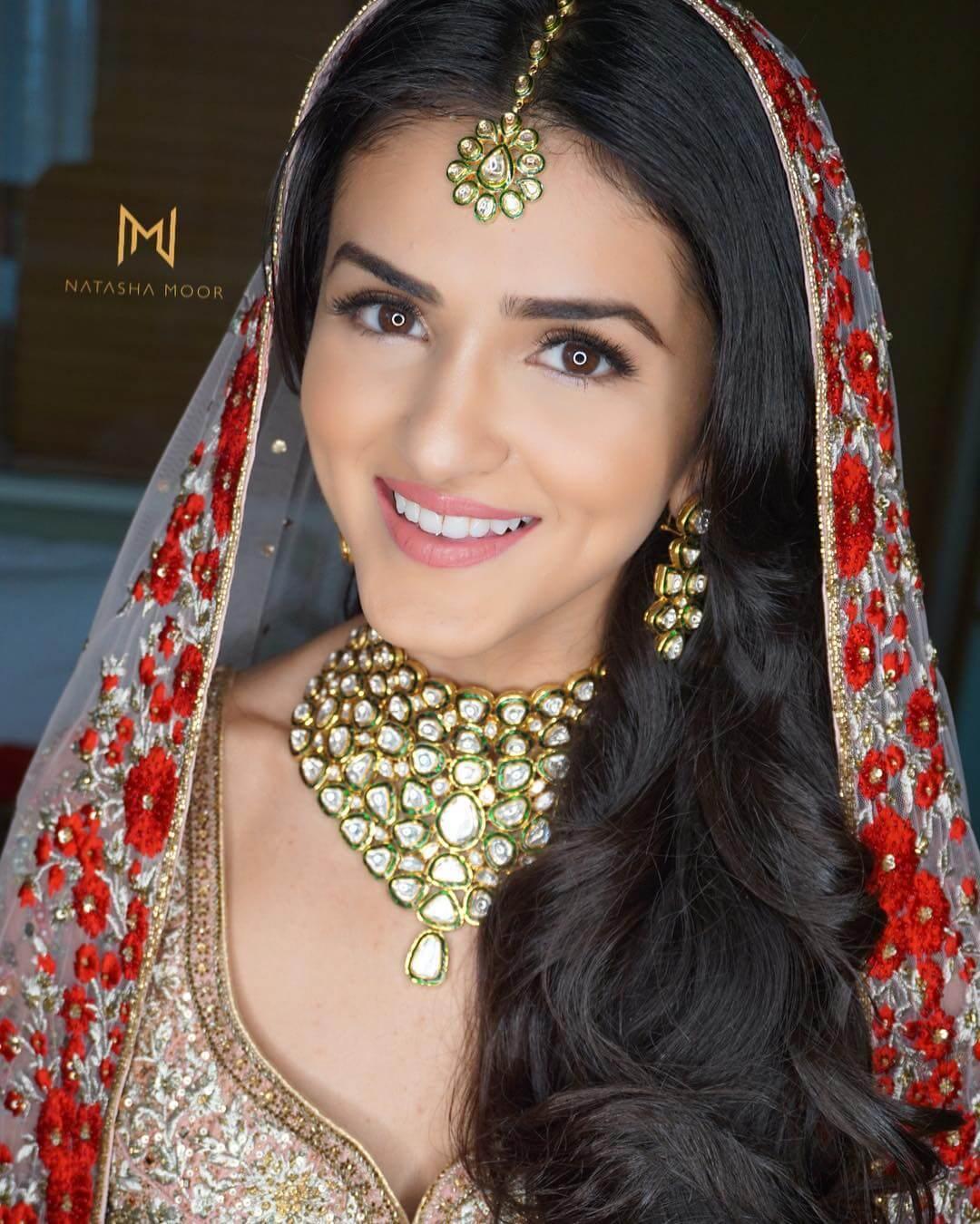 intimate bridal look
