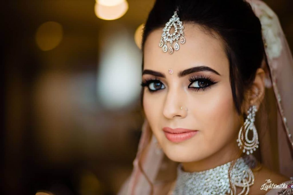 nude bridal makeup