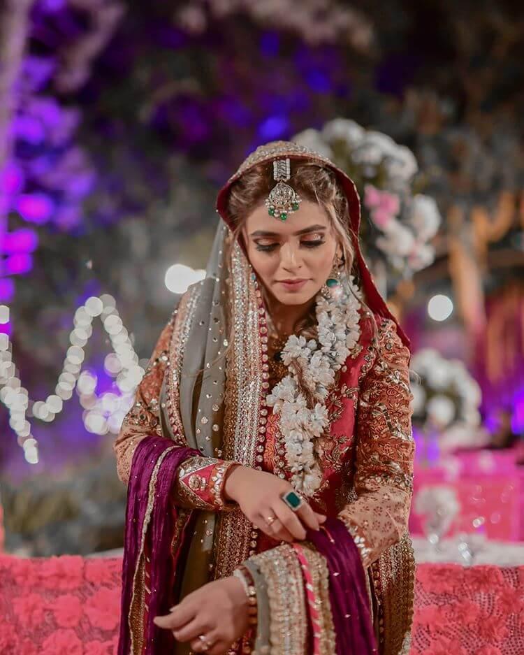 floral bridal braids