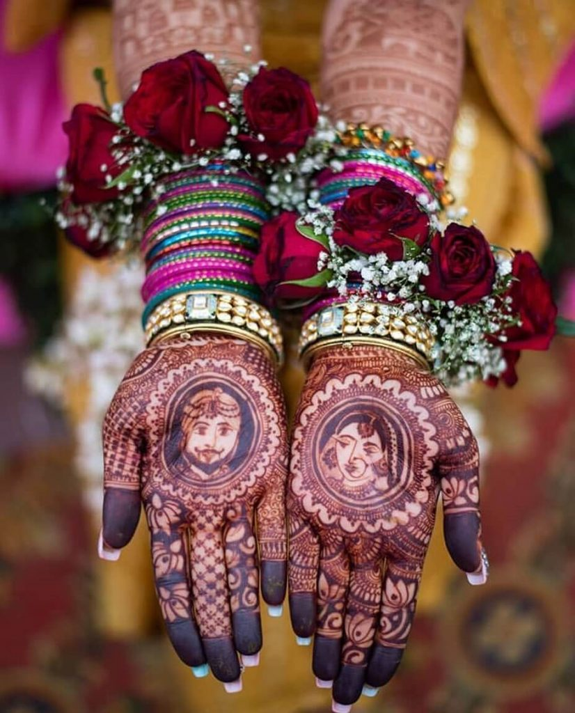 mehendi jewellery trends