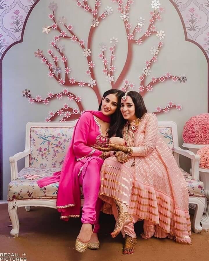 sara ali khan bridesmaid