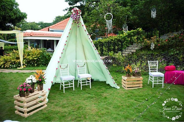 Teepee Tent Decor