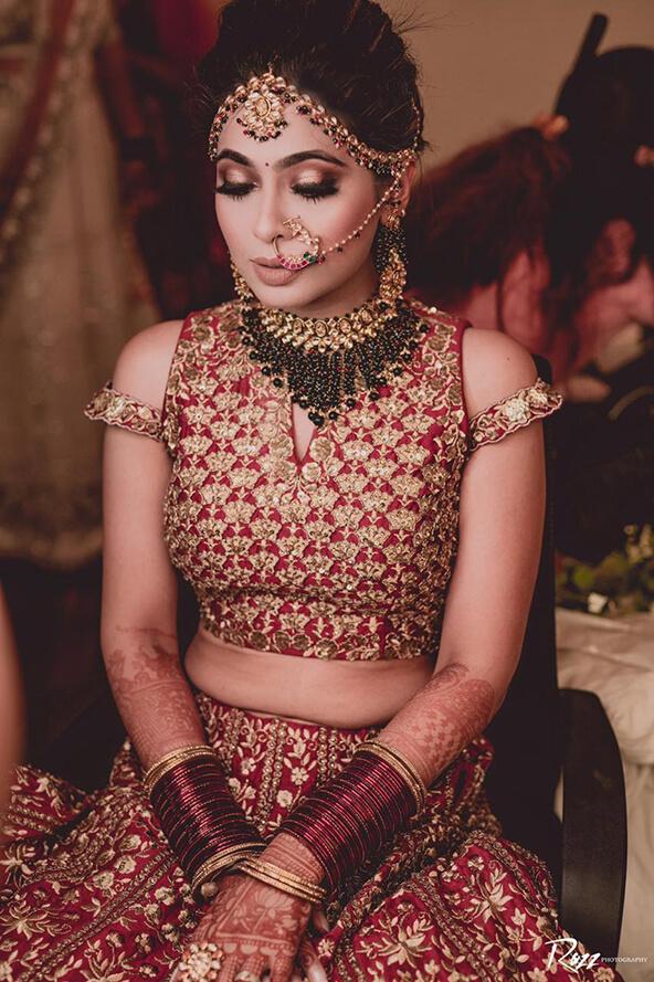 red bridal bangles