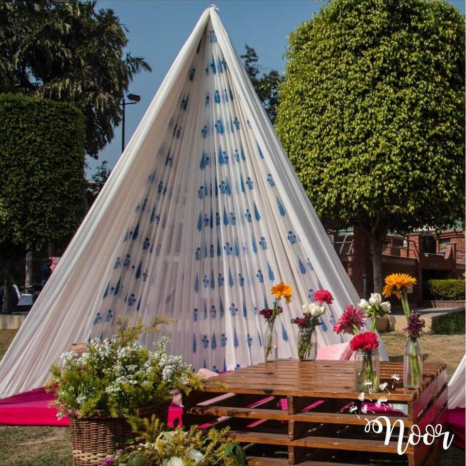 wedding tent decor ideas