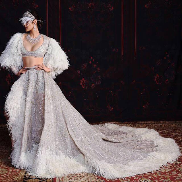 falguni shane, bridal wear