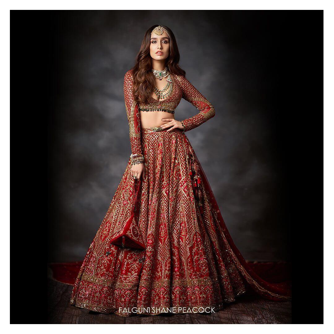 Shradha Kapoor, India Couture Week 2020