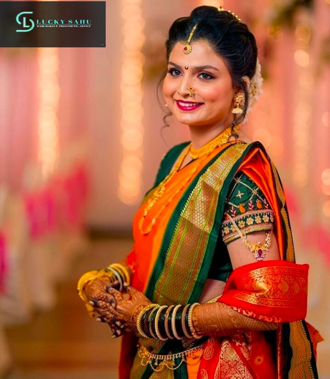 maharashtrian bridal look