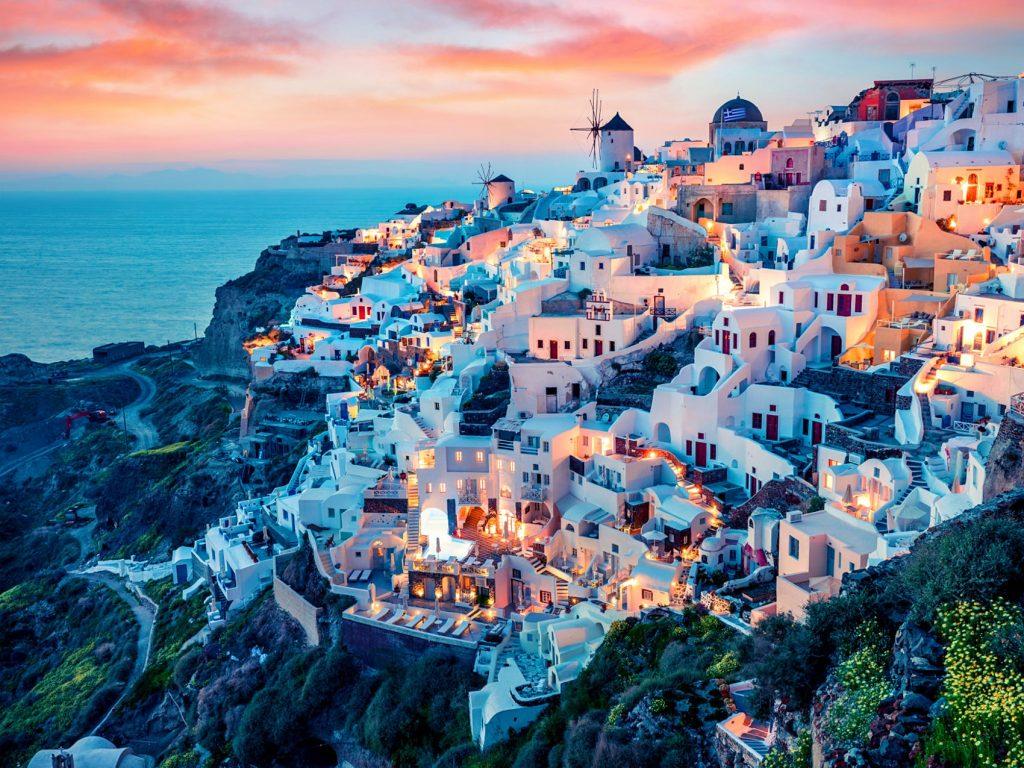 Santorini, top honeymoon destinations