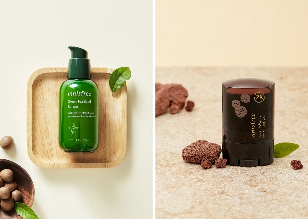 Innisfree skincare products